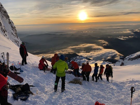 Crews rescueda climber who got lost and one who became injured during a small avalanche on Mt. Hood over Memorial Day weekend.Around 60 rescuers responded to the two emergency callsover the course of 23 hours.