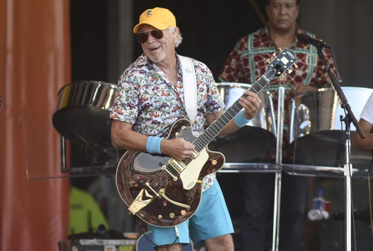 Jimmy Buffett talks releasing a new album during a pandemic and why he stopped drinking margaritas