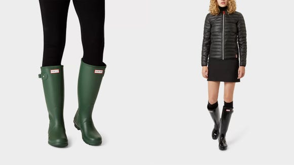 There's a jaw-dropping one-day sale on Hunter rain boots right now—while they last