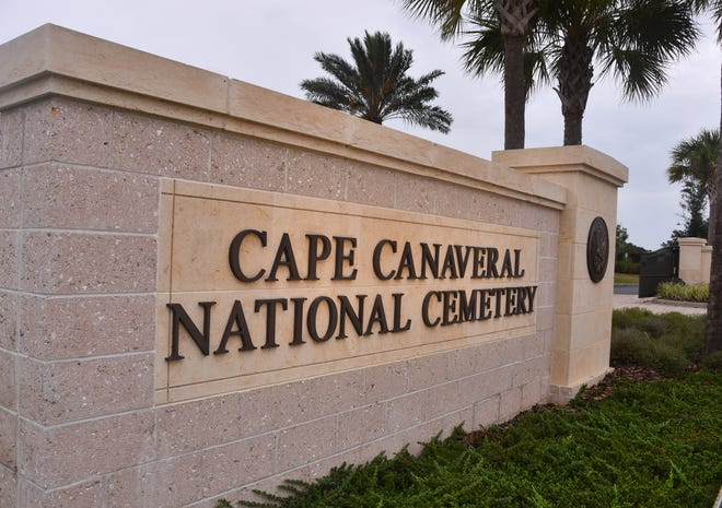 Normal services are expected to resume at the Cape Canaveral National Cemetery on Tuesday.