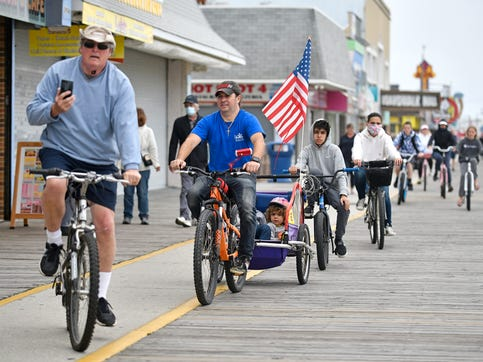 Matt Wright of Mount Laurel talks about kicking off a socially-distant summer in Wildwood on Memorial Day.