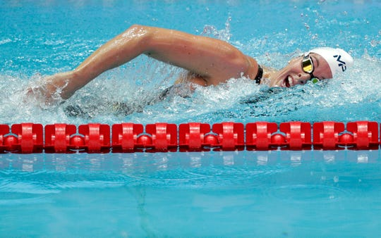 Allison Schmitt has won eight Olympic medals, including four golds.