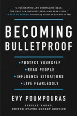 """""""Becoming Bulletproof"""" by Evy Poumpouras."""