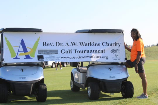 Because of coronavirus restrictions, the Rev. Dr. A.W. Watkins Charity Golf Tournament was canceled this year. This event is the foundation's largest annual fundraiser.