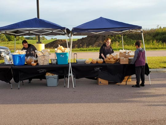 The 2019 Dell Rapids Farmers Market was held in the parking lot of Shopko, which is now Dell Rapids Lumber. This year's Farmers Market events will be held in the city park.