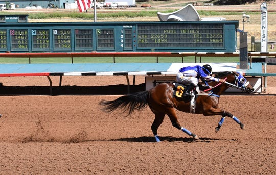 Hotsempting was the top qualifier for the June 6 Ruidoso Derby on June 6.