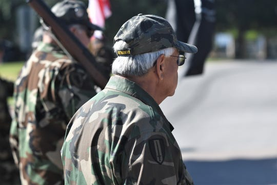 Avenue of Flags observance is postponed until November, but association members held a scaled-down ceremony to honor Tulare County's fallen soldiers on Monday, May 25, 2020.
