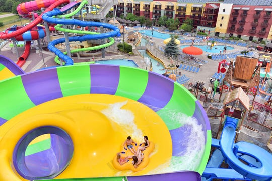 Wisconsin Dells is a four-season destination with indoor waterparks.