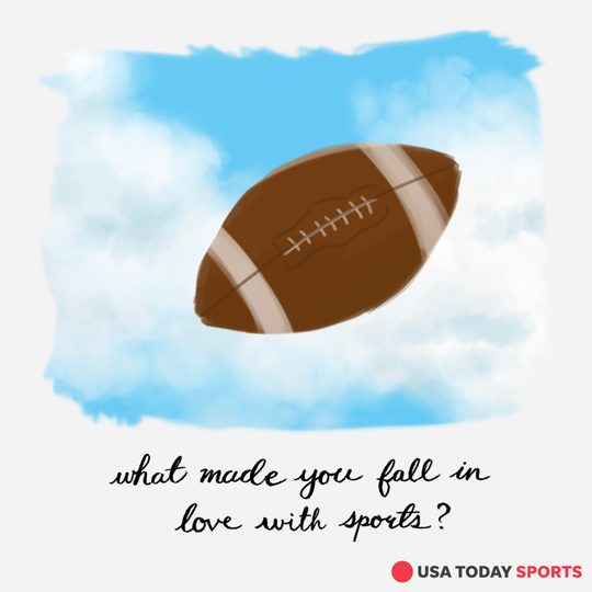 How did we fall in love with sports? We'll share our stories. And we want yours, too