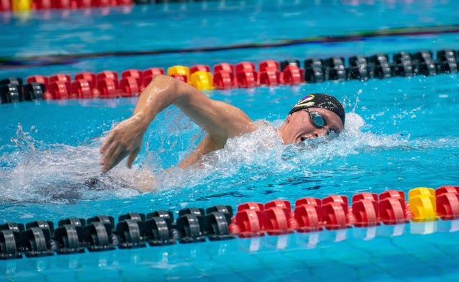 Johnny Darguzas, a 2018 Tuscola High School graduate, had just finished his sophomore swimming season with the Pirates, competing in four events. His future at ECU, along with the rest of his teammates, is now uncertain.