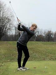 Andrew Milroy was set for his senior season on the Calhoun Christian/St. Philip boys golf team.