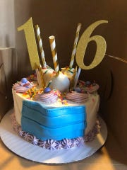 Binghamton resident Danielle Claudia, also known as the Underground Baker, makes special COVID cakes for any kind of celebration.