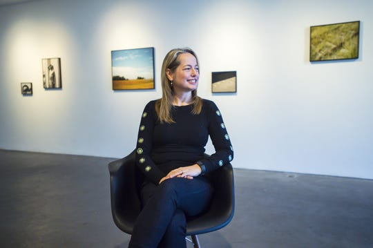 Heather Ferrell, seen in Burlington on Friday February 17, 2017, is the curator and director of exhibitions at Burlington City Arts.