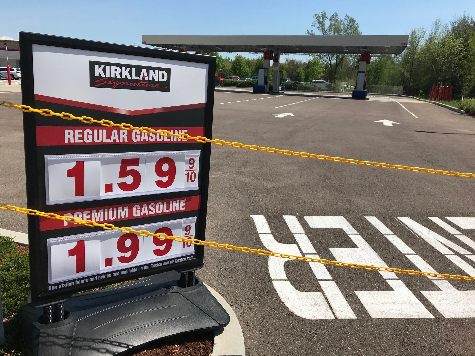 Costco Opens Gas Station In Colchester