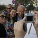 In this Oct. 15, 2008 file photo, then Vice Presidential candidate Joe Biden poses for a picture with Katie Bosworth, center, and McKenzie Moore, left, during a campaign stop at the Ohio University Lancaster campus.