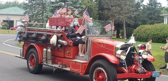 The Neshanic Volunteer Fire Company annual Memorial Day parade, a tradition for more than six decades, was again held on Monday in  slightly different form.