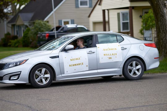 A parade of vehicle was held in West Lafayette to honor graduates of Ridgewood High School. A traditional graduation and other activities could not be held due to the COVID-19 pandemic.