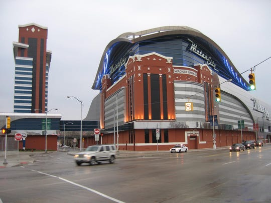 Motor City Casino in Detroit was No. 10 on Uber's Top 10 list of late-night metro Detroit destinations.