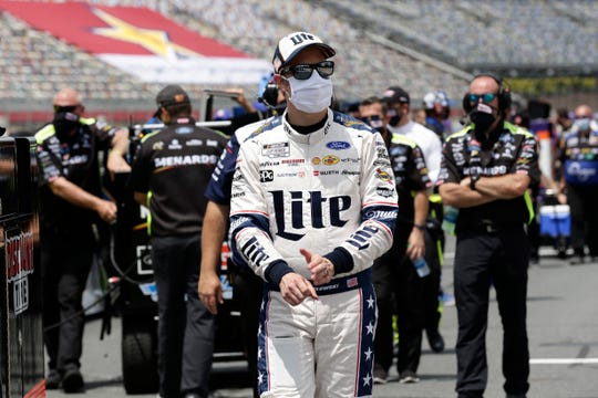 Brad Keselowski has five top-10 finishes this season, which is highlighted by his Coca-Cola 600 victory.