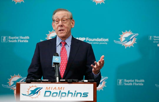 Miami Dolphins owner Stephen Ross is confident the NFL will play in 2020.
