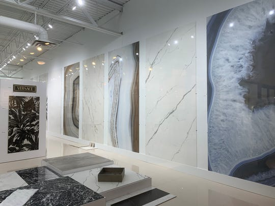 The Michigan Design Center, which includes the Cercan Tile showroom, reopened this week but in a different format. Customers must call individual showrooms to make an appointment.