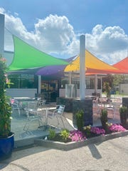 Enjoy the final days of warm summer weather on the patio at Blenderz on North First Avenue.