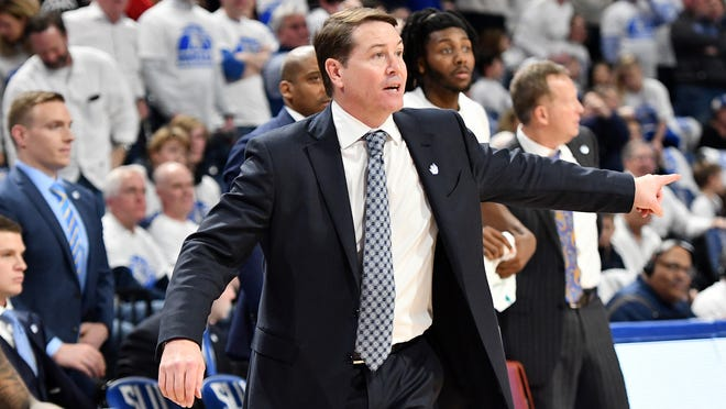 Former UK standout Travis Ford followed Jim Crews as Saint Louis University men's basketball coach. He has guided three teams to a total of seven NCAA tournament appearances.