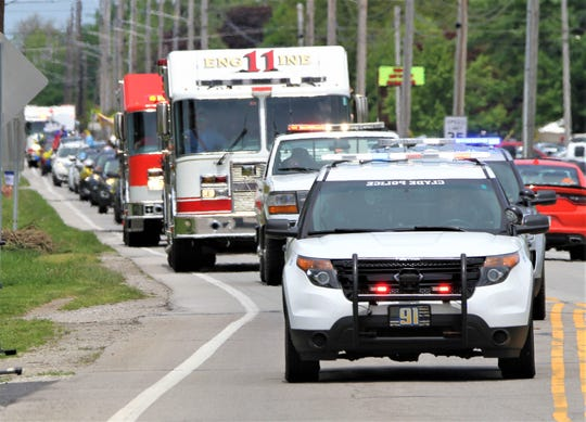 Clyde's Graduation Parade and Ceremony was held on May 24, 2020. Clyde Police, Clyde Fire and Green Springs Volunteer Fire departments participated in the Senior Parade from Clyde HIgh School through the city and to Green Springs and back.