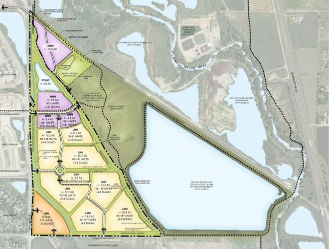 The Strauss Lakes project is located northeast of Ziegler and Horsetooth roads.