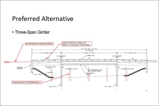 Armington Bridge Preferred Alternative
