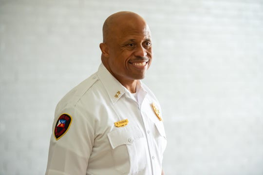 Deputy Chief Reginald Thomas - Lafayette Police Department.  Tuesday, May 26, 2020.
