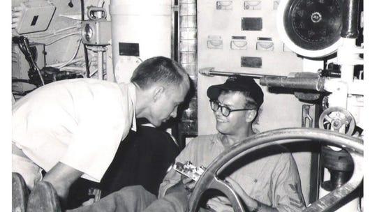 Wayne Hartlich_U.S. Navy veteran, USS Baya (AGSS-318) (1969)