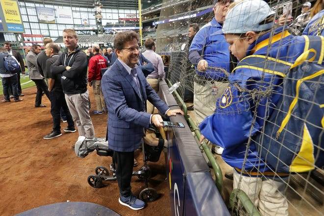 Milwaukee Brewers principal owner Mark Attanasio wants to be at Miller Park -- not in Phoenix -- when baseball returns for an abbreviated spring training and then real games.