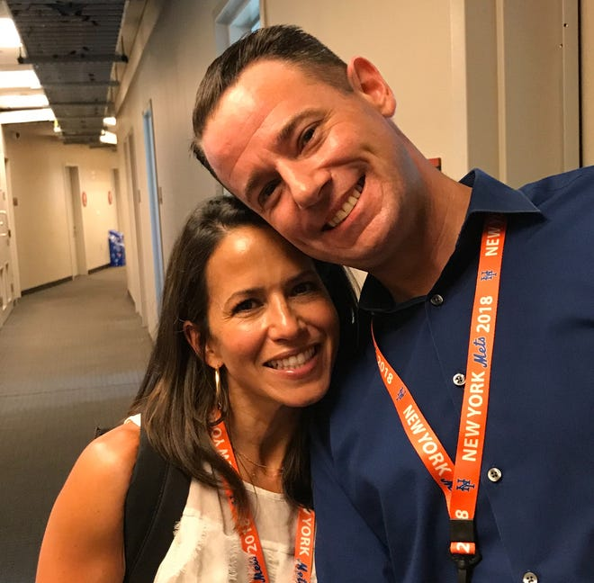 Marysol Castro and Colin Cosell are the New York Mets public address announcers.