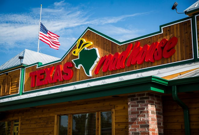 The newly constructed Texas Roadhouse restaurant on McGalliard Road Tuesday, May 26, 2020.