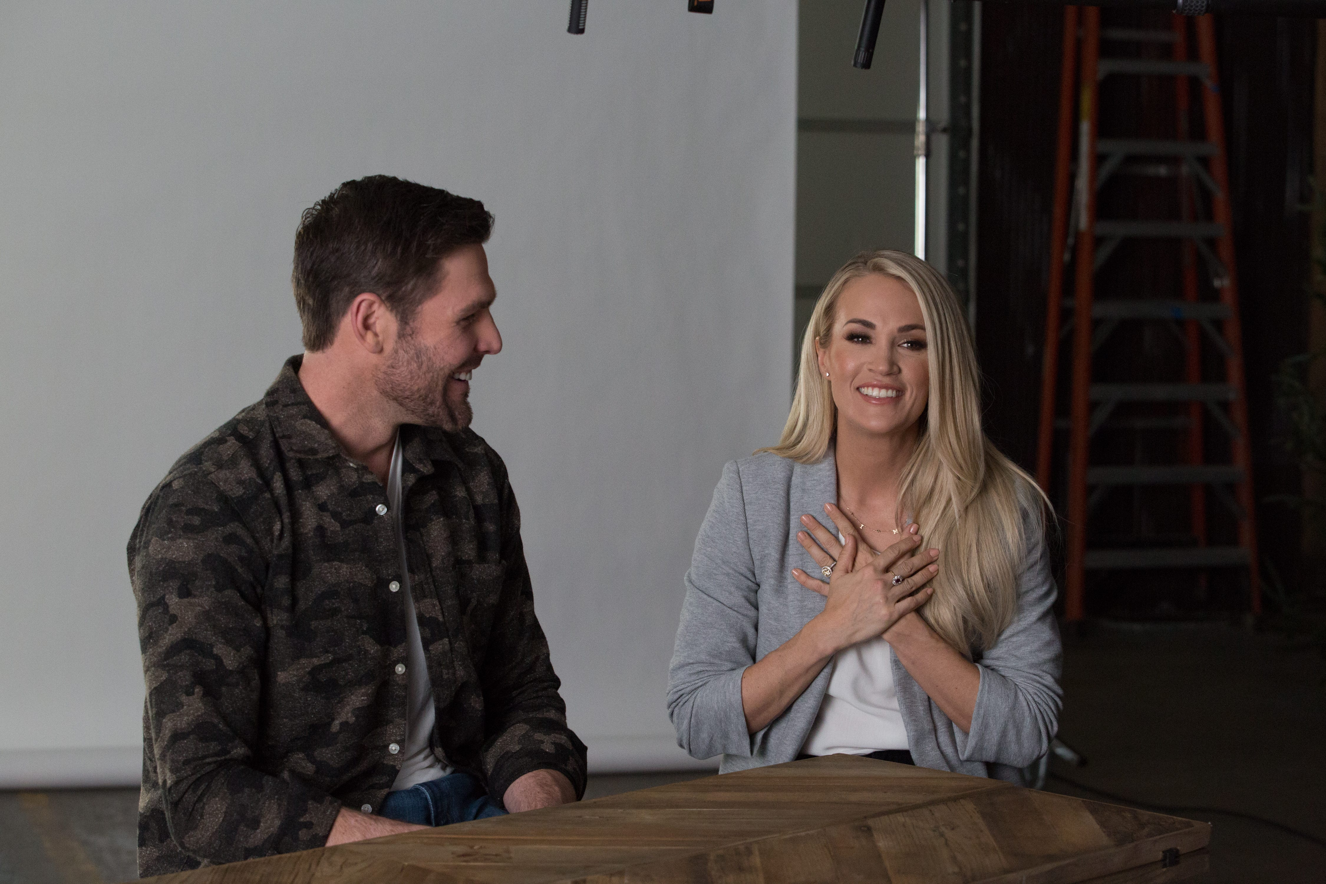Carrie Underwood And Mike Fisher Open Up On Faith Marriage