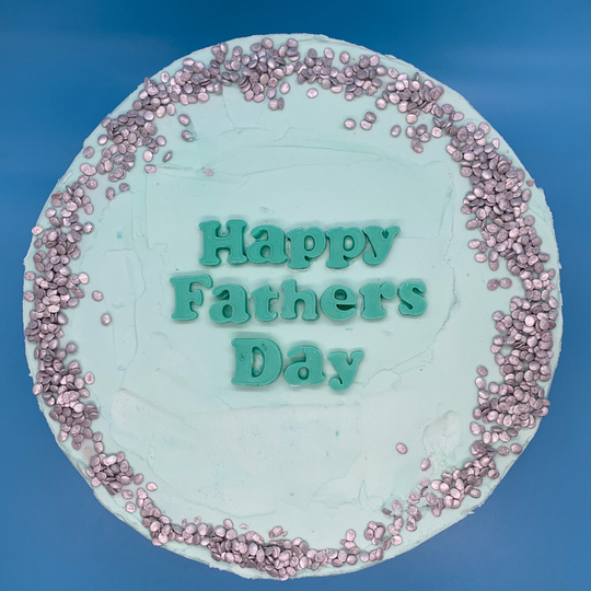 The Cookie Cake Company's custom makes Father's Day cakes