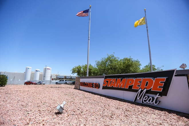 The Stampede Meat facility is pictured in Sunland Park on Tuesday, May 26, 2020.