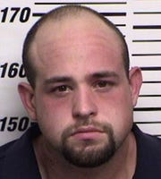 A booking photo of Tyler Aaron Kelley of Artesia when he was arrested earlier this year by Eddy County Sheriff's deputies. He was arrested Saturday afternoon by Roswell police for first degree murder of a Roswell man.