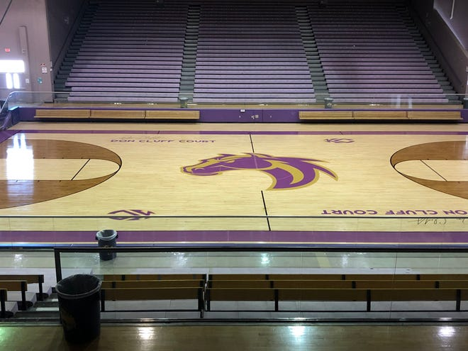 Kirtland Central's Bronco Arena unveiled its new look on Tuesday. The arena went through $25,000 worth of renovation.