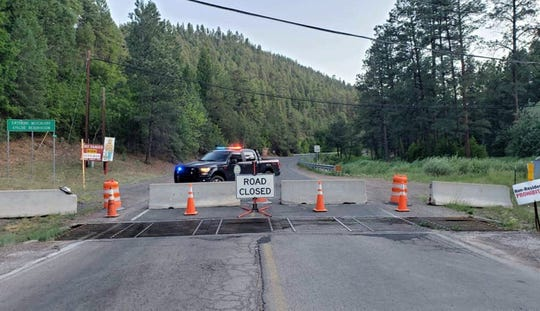 Roads into the Mescalero Apache Reservation were close on May 23 in response to COVID-19. Anyone in violation will be issued a citation and escorted off tribal lands.
