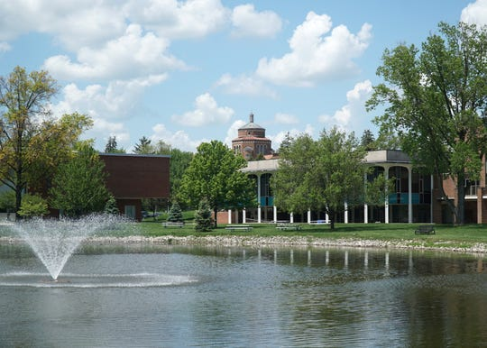 The campus of Madonna University in Livonia in May, 2020.