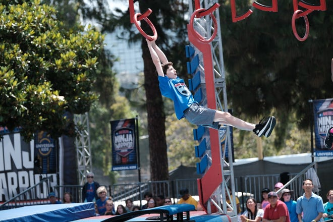 """Brighton's Ava Mendler will be featured Friday on an episode of """"American Ninja Warrior Junior,"""" airing on the Universal Kids channel."""