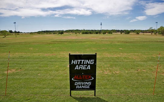 The driving range at the new Sports Next Level complex is seen in this Tuesday, May 26, 2020 photo.