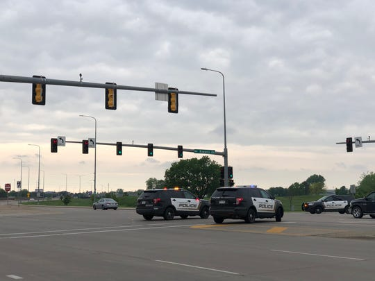 Officers responded to a pedestrian-vehicle crash around 5:20 p.m. on Tuesday at Kiwanis Avenue and Russell Street.
