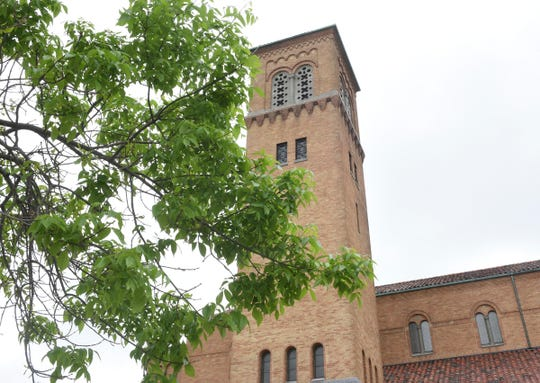 St. Mary's Cathedral is pictured Tuesday, May 26, 2020, in St. Cloud.