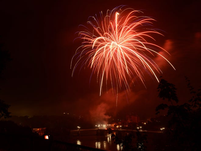 This year's Stars and Stripes on the River Fourth of July celebration has been canceled. However the Zanesville Jaycees is hoping to continue the fireworks display, and is asking for donations to make it possible. A GoFundMe account has been established and donations can be made at https://www.gofundme.com/f/20ib8vac1c, or by searching Zanesville Jaycees on the GoFundMe site.