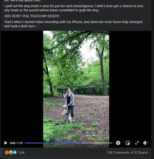 In a now viral video, a white woman in Central Park called police on a black man, who says he simply asked for her dog to be leashed.