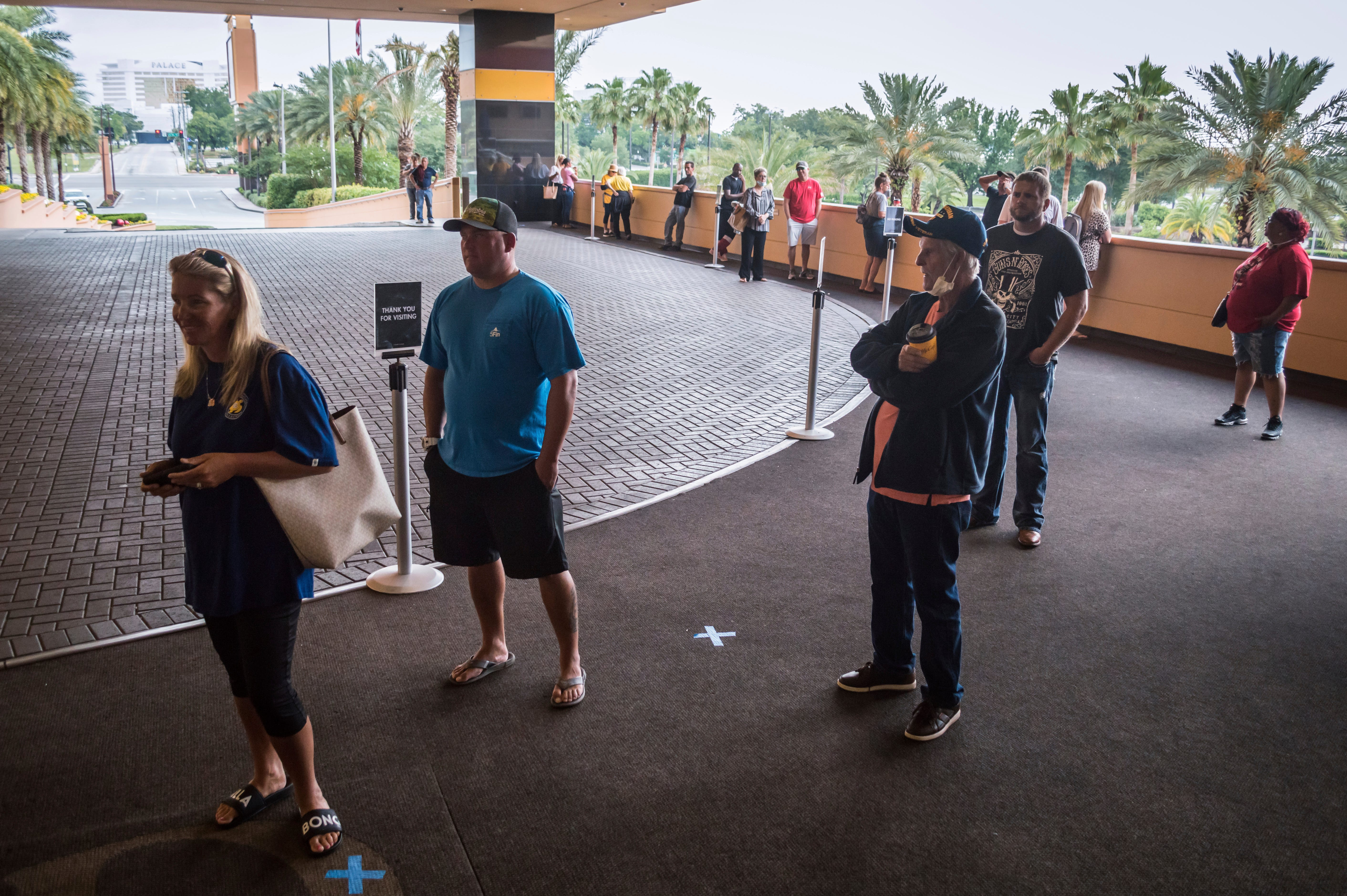 Coronavirus Mississippi Sees Tourists As Margaritaville More Open