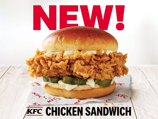 The new sandwich is double-breaded, includes thicker pickles and is served in brioche bun.